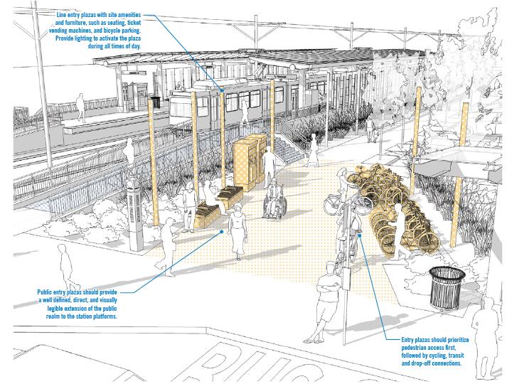 LRT Station Design Guidelines : Studio for Spatial Practice